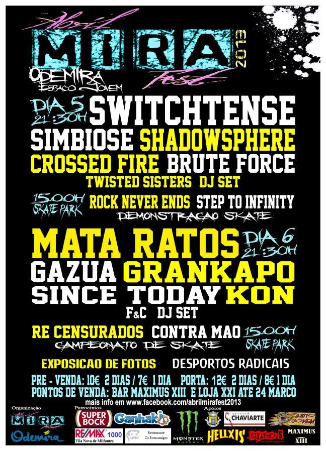 Abril Mira Fest 2013 - 5 e 6 de Abril